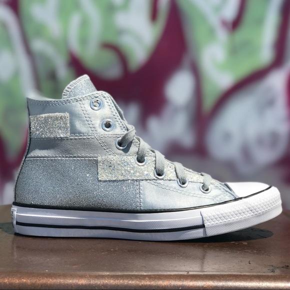 Converse Chuck Taylor All Star Hi Glitter Sneakers